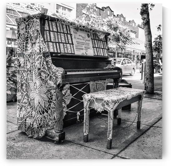 Street Piano by BLAIS Photo