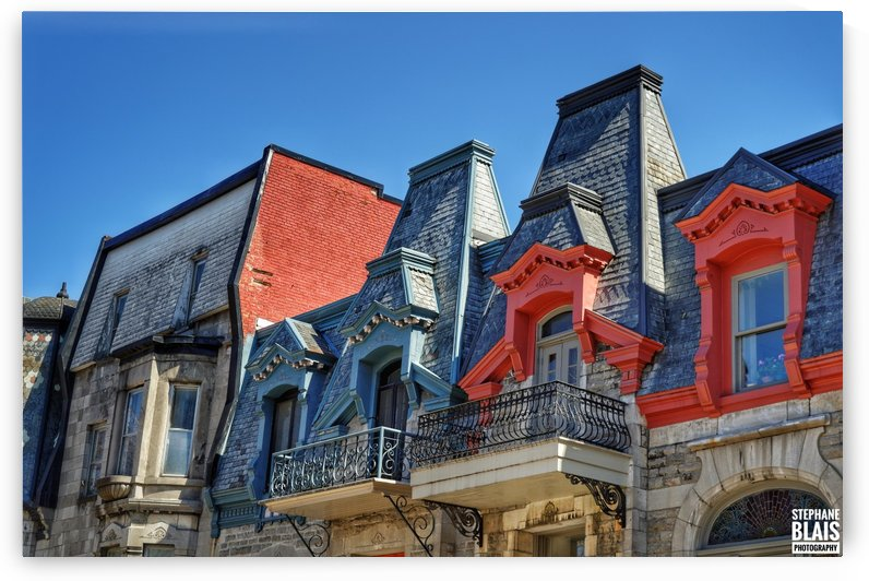 Montreal Rooftops by BLAIS Photo