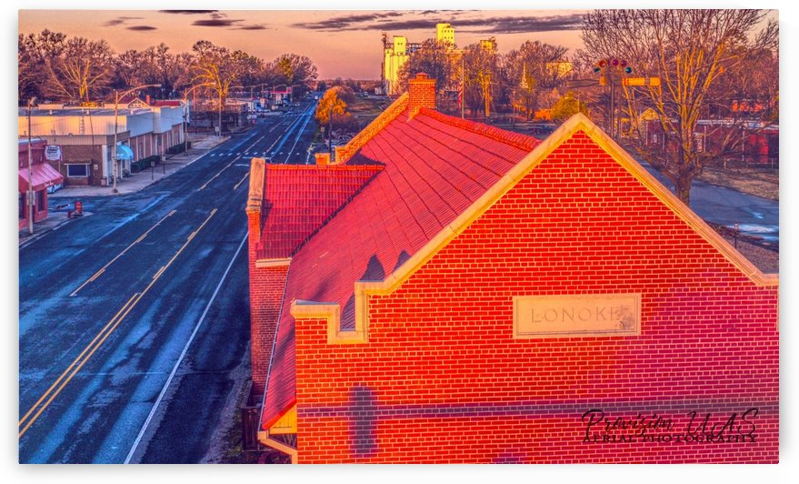 Lonoke, AR | Red Oak  by Provision UAS