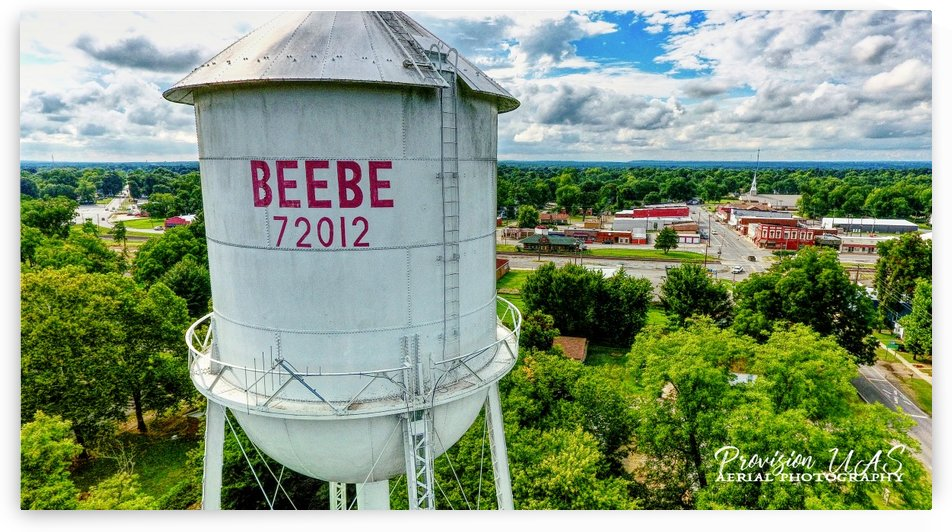 Beebe, AR | Water Tower by Provision UAS