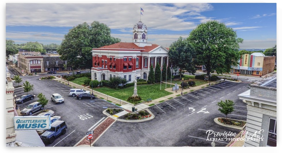Searcy AR | Courthouse by Provision UAS