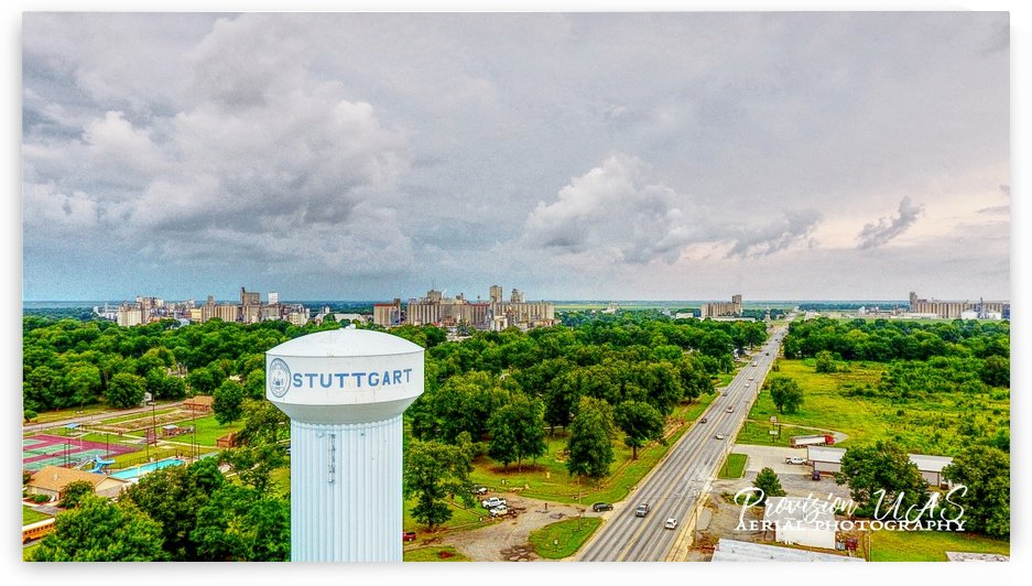 Stuttgart, AR | Water Tower by Provision UAS