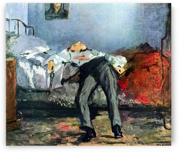 Suicide by Manet by Manet