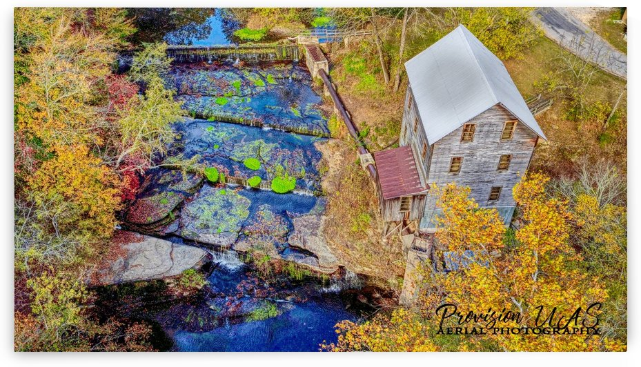 Leoma, TN | Wilburn Grist Mill by Provision UAS