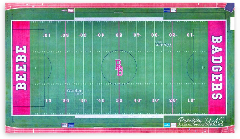 Beebe, AR | Badger Football Field by Provision UAS