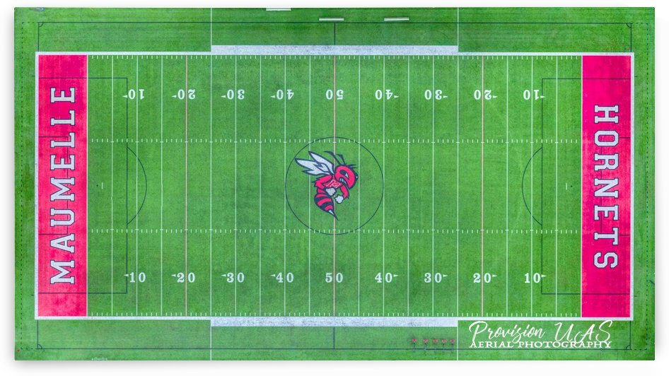 Maumelle, AR | Hornets Football Field by Provision UAS