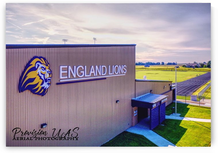 England, AR | Lions Field House & Stadium by Provision UAS