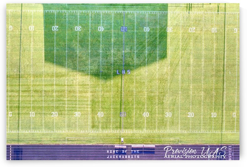 Lonoke, AR | Jackrabbits Football Field by Provision UAS