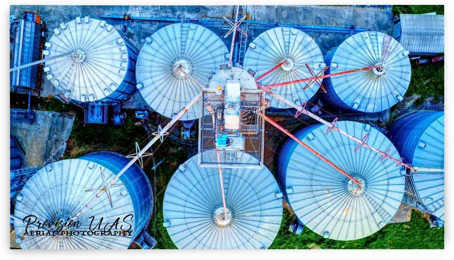 Carlisle, AR | Kittler Grain Bins by Provision UAS