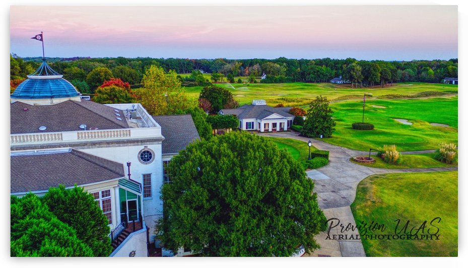 Westpoint, MS | Old Waverly Club House by Provision UAS