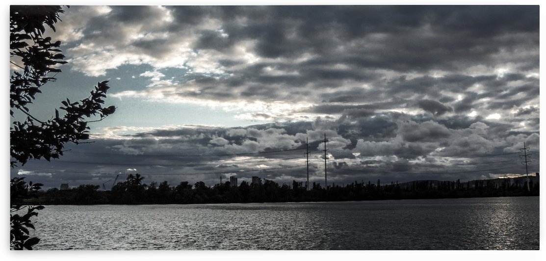 Clouds over Montreal by Philippe Collard