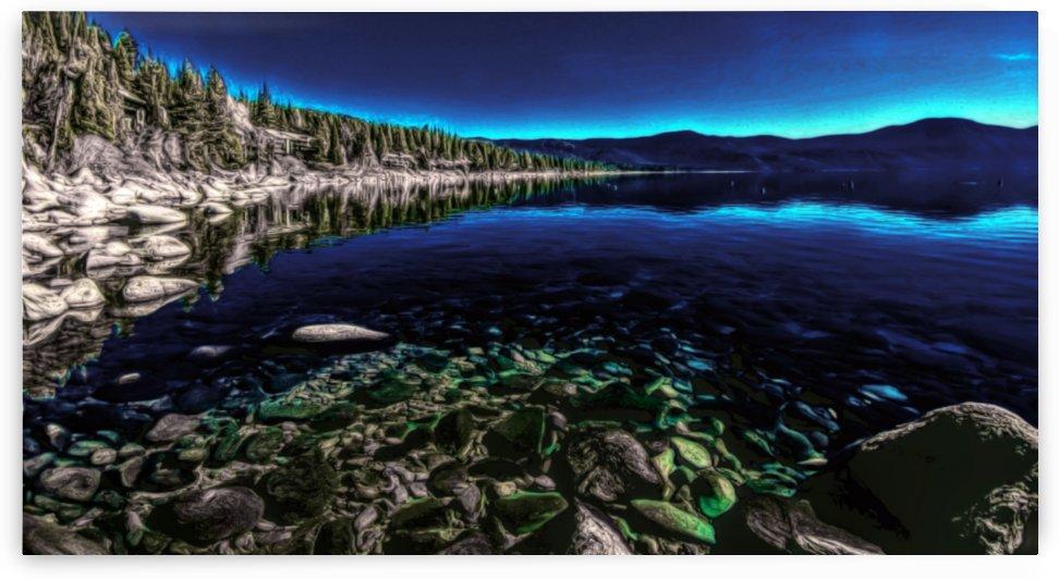 Crystal Blue Bay by Cammie Rayas