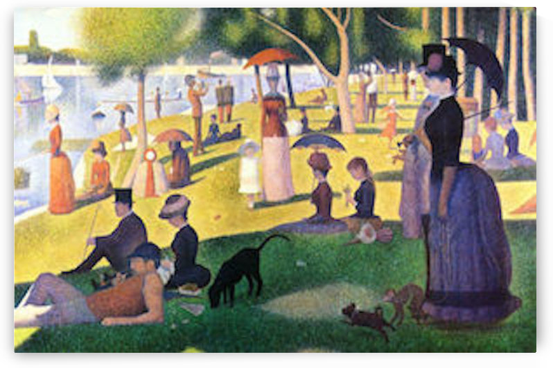 Sunday at La Grande Jatte by Seurat by Seurat