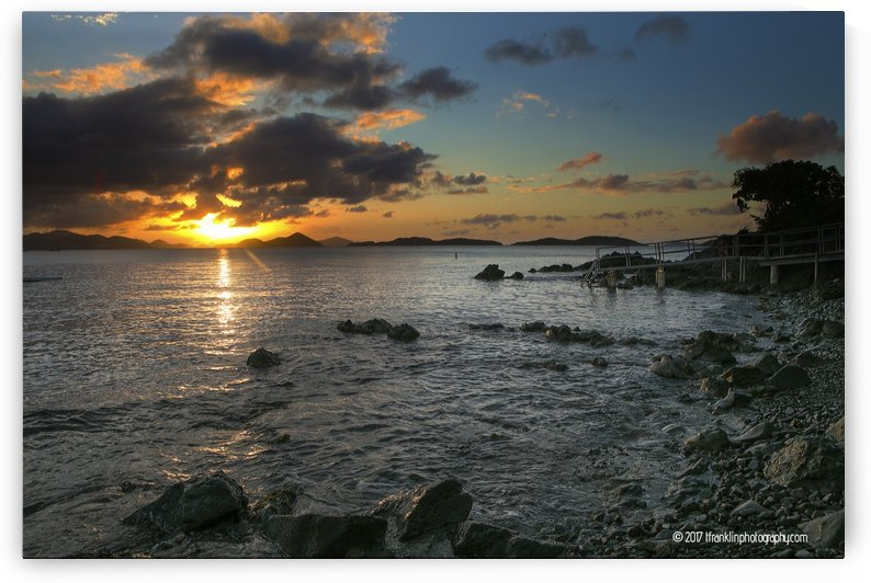 Gallows Point Sunset by T Franklin Photography