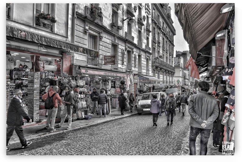 Streets of Paris - Montmartre by BLAIS Photo