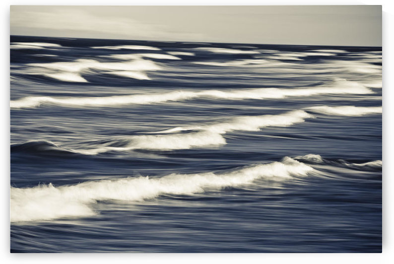 Surf Patterns At Anchor Point In South Central Alaska by PacificStock