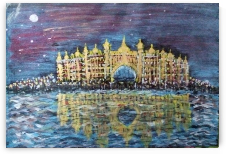 Golden palace by Raja Hussain