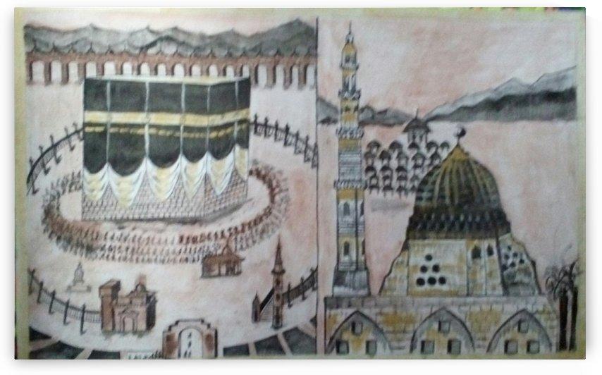 holy mecca madina by Raja Hussain