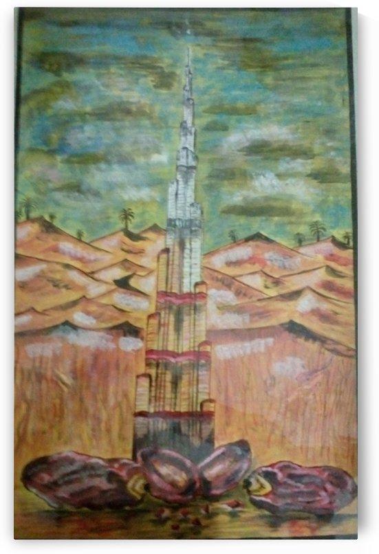 born of burj kalifa by Raja Hussain