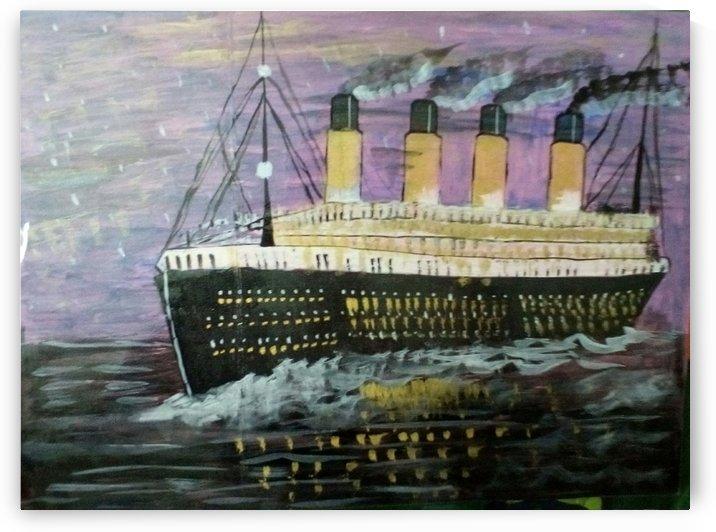 titanic by Raja Hussain