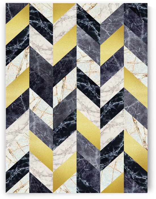 Marble and gold pattern by Vitor Costa