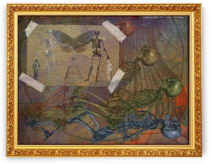 Emptiness is Balance 5 by D Julian Morris