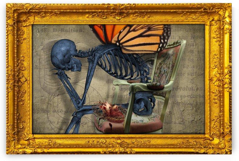 Emptiness is Balance #4 by D Julian Morris