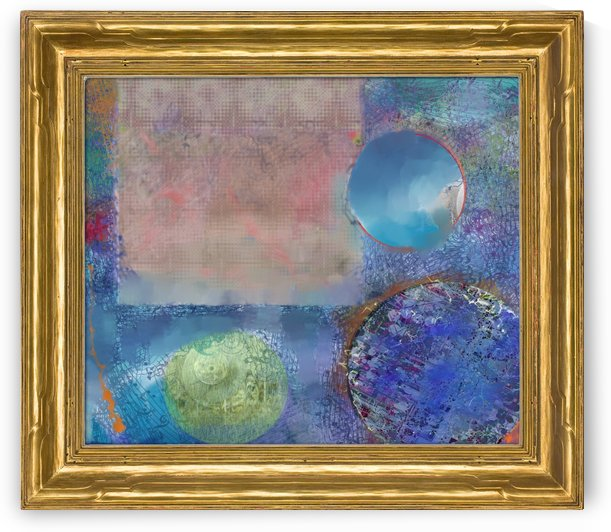 Abstract Nine ~ Complete Being; Isness by D Julian Morris