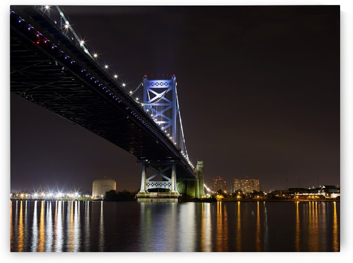 Ben Franklin Bridge by Victor F Rodriguez Jr