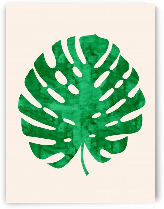 Tropical leaf III by Vitor Costa