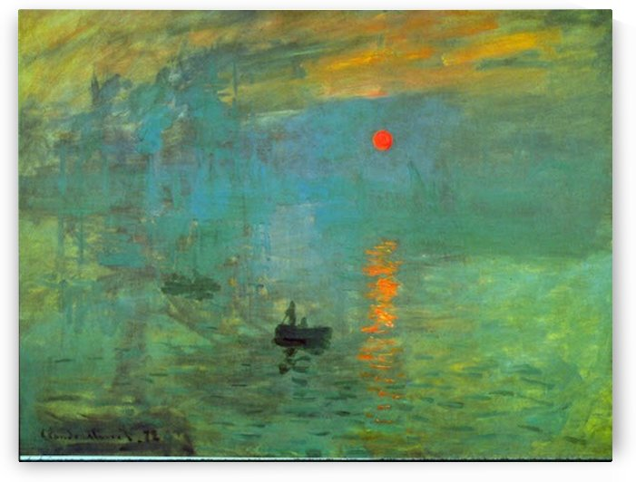 Sunrise by Monet by Monet