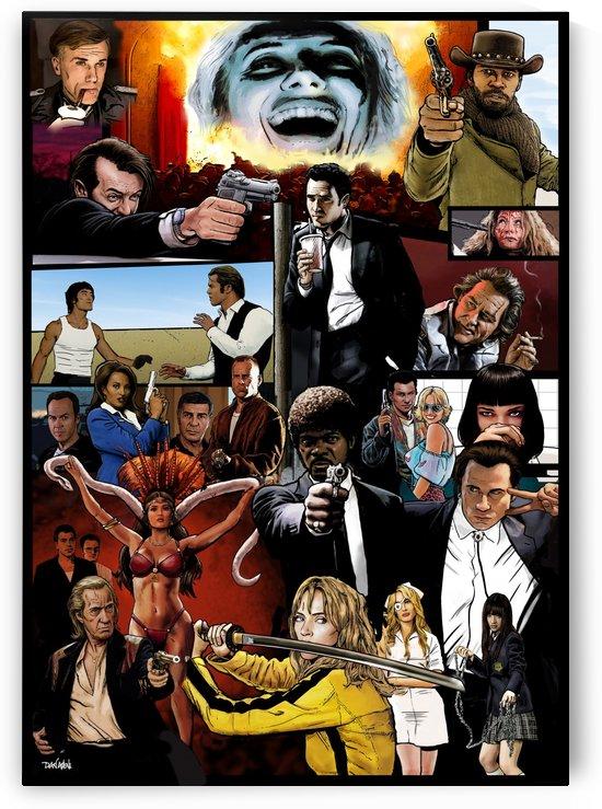The Tarantinoverse - Pulp Fiction, Reservoir Dogs, Django Unchained, Kill Bill & More by Dan  Avenell