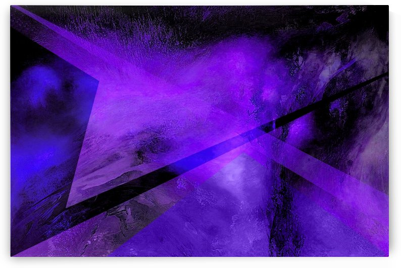 Geometric Abstract B by Illuminary Artworks