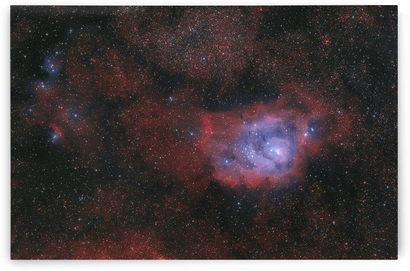 Lagoon Nebula by RichardBoudreauAstrophotography