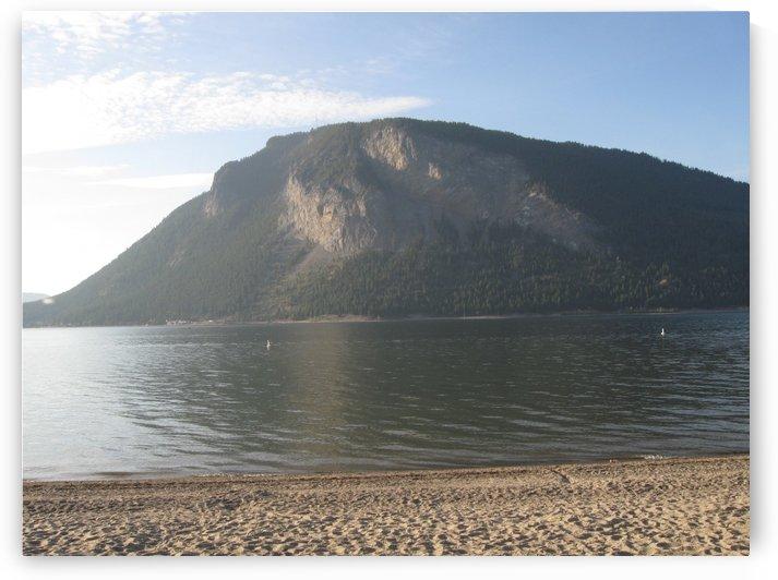 Mount Ida On The Beach by G Bochsler