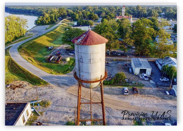 Clarendon, AR | Water Tower by Provision UAS