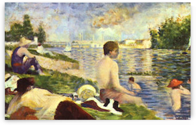 Swimming Pool by Seurat by Seurat