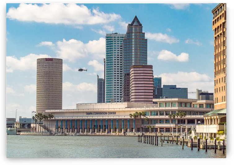 Downtown Tampa Bay Waterfront  by Melody Rossi