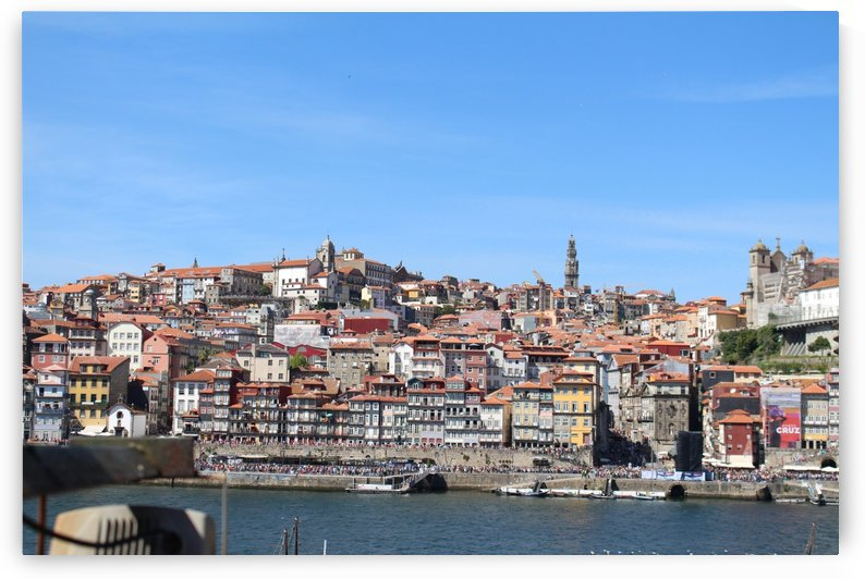 Oporto City at Douro River by baldaciara