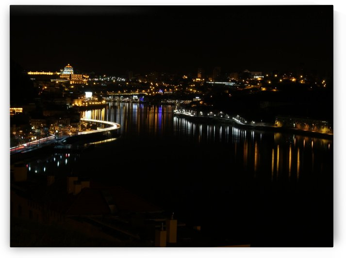 Oporto Night ligths by baldaciara
