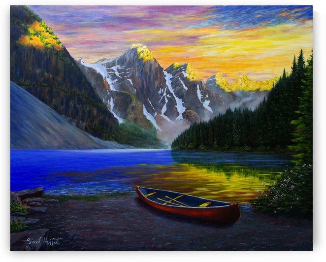 Moraine Lake Majesty by Saeed Hojjati