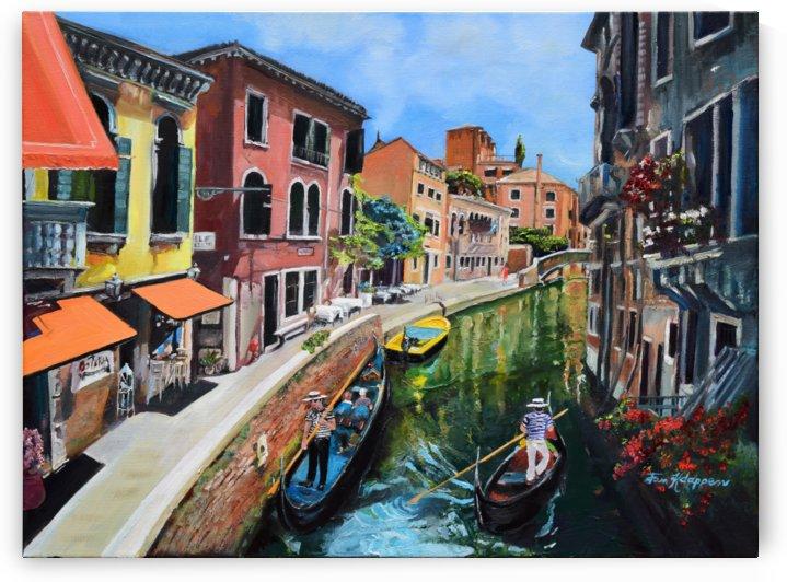 Venice in Summer Vivid by Jan Kornegay Dappen