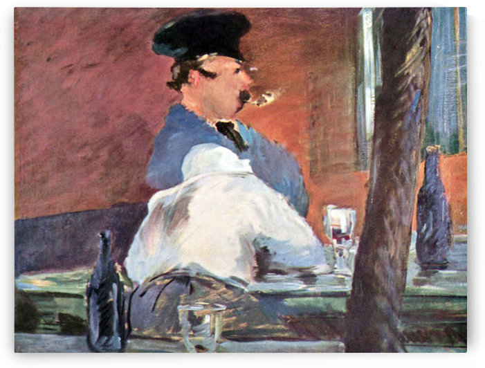 Tavern by Manet by Manet
