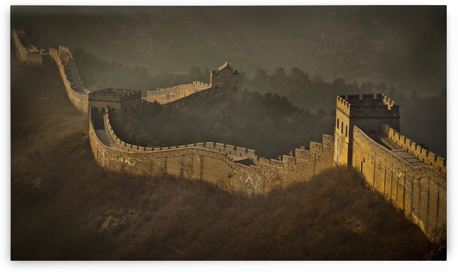 View Of Great Wall; China by PacificStock