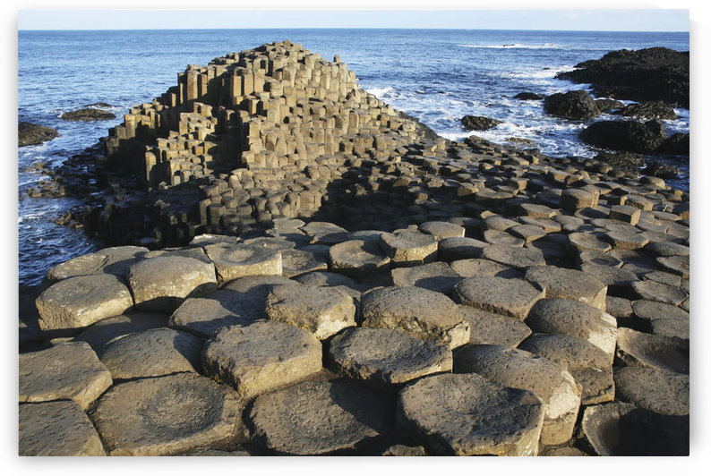 The lunar-like landscape of Giant's Causeway; County Antrim, Ireland by PacificStock