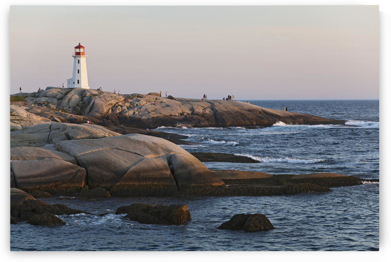 Lighthouse; Peggy's Cove, Nova Scotia, Canada by PacificStock