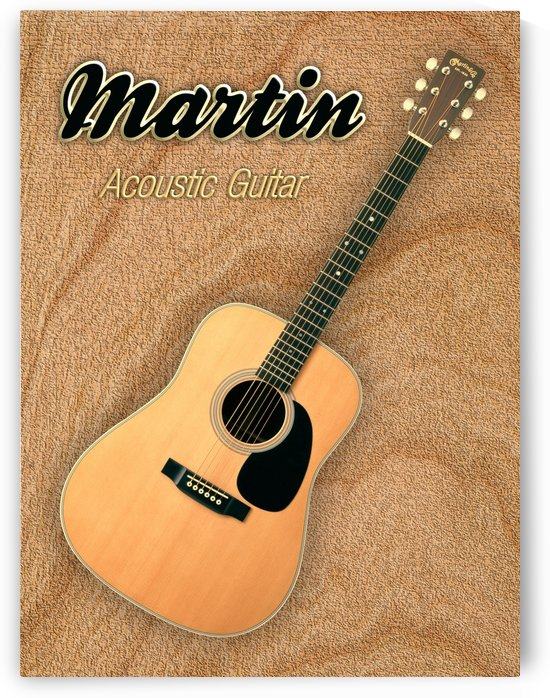 Wonderful Martin Acoustic Guitar  by shavit mason