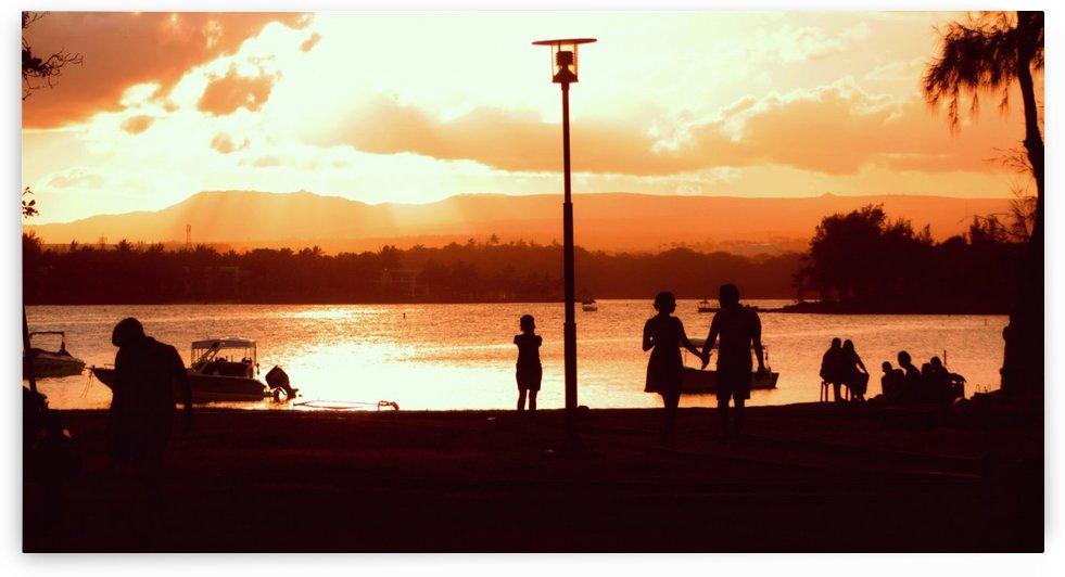 Icing sunset by Jeffrey michael prayag