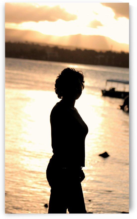 Icing silhouette by Jeffrey michael prayag