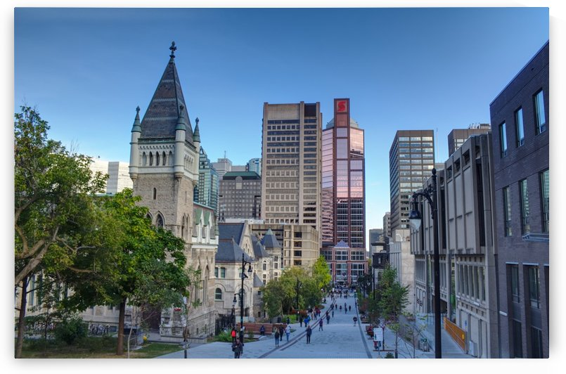 McGillMontrealDowntownHDR by Quinton Smith